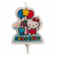 1 Bougie Silhouette Hello Kitty