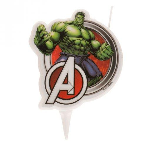 1 Bougie Silhouette Avengers Hulk