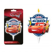 1 Bougie Silhouette Cars McQueen