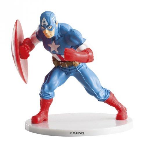 Figurine Captain América (10 cm) - Plastique