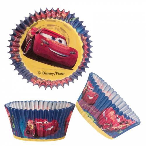 50 Caissettes à Cupcakes - Cars