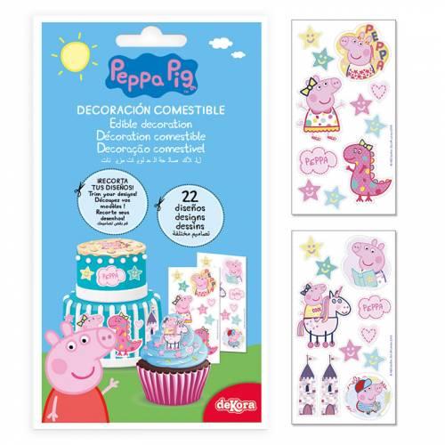 22 Stickers Peppa Pig - Azyme