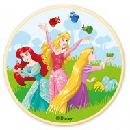Petit Disque Princesses Disney & Friends (11 cm) - Chocolat blanc