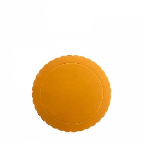 1 Plateau Dentelle Rond Or (20 cm)