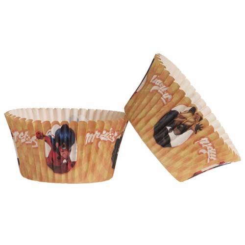 25 Caissettes à Cupcakes - Lady Bug