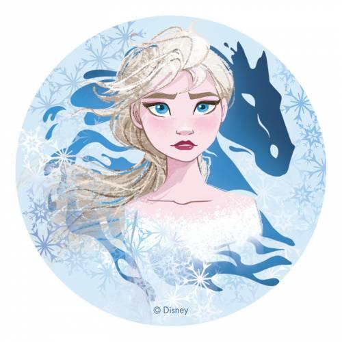 Disque Elsa - Reine des Neiges 2 (20 cm) - Azyme