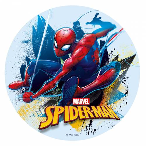 Disque Spiderman - Azyme - sans E171