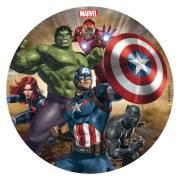 Disque Avengers (16 cm) - Comestible - sans E171