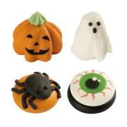 4 Décorations Halloween - Sucre