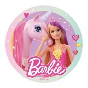 Disque Barbie et son Cheval (20 cm) - Azyme