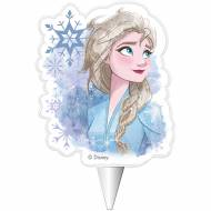 1 Bougie Silhouette Elsa - Reine des Neiges 2