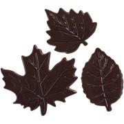 Set de 3 Feuilles - Chocolat