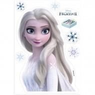 Silhouette Elsa Reine des Neiges 2 - Azyme