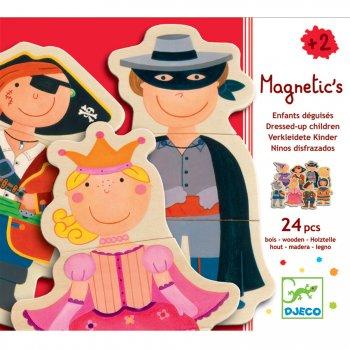 Jeu de Puzzle Magnétique - Enfant Déguisés