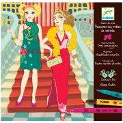 Coffret Atelier Stylisme - Dessiner des robes de soirées