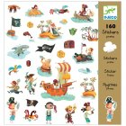 160 Stickers Pirates