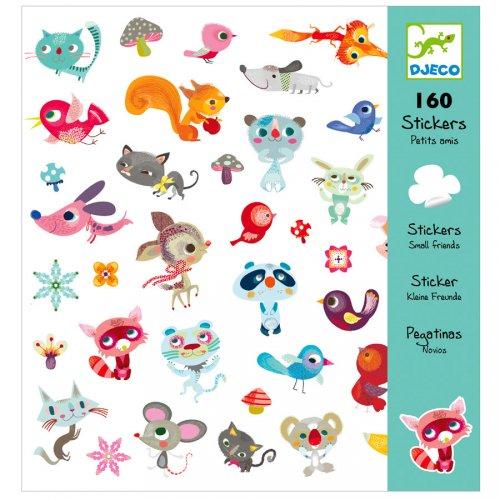 160 Stickers Petits amis