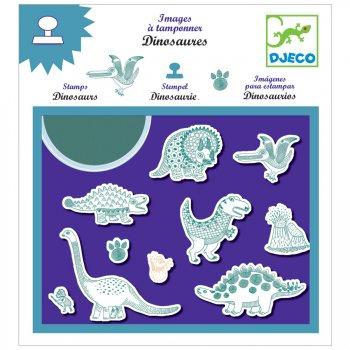 Set Tampons Dinosaures