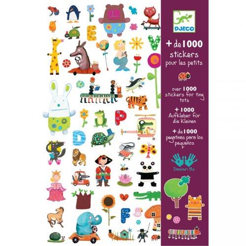 Album de 1000 Stickers pour les petits