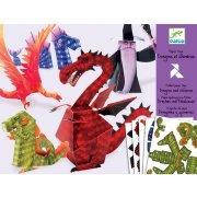 Paper Toys - Dragons et chim�res