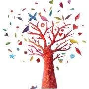 Stickers repositionnables - L'arbre à poèmes