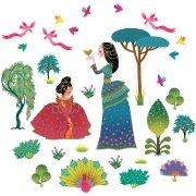 Stickers repositionnables - Princesse ador�e