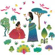 Stickers repositionnables - Princesse adorée