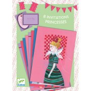 8 Invitations Mademoiselle