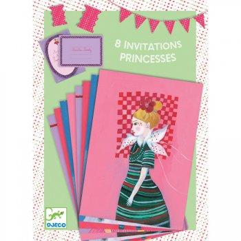 8 Invitations Mademoiselle