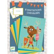 8 Invitations Chevaliers