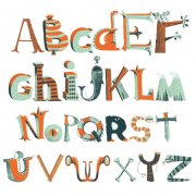 Stickers Muraux Alphabet Pirate