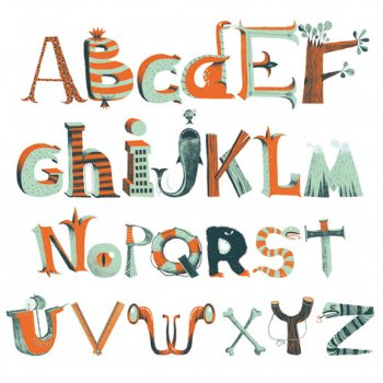 Stickers Muraux Alphabet Pirate