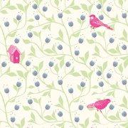 Papier peint Fleurs Volubilis