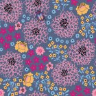 Papier peint Fleurs Latino