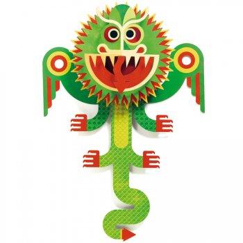 Tableau Pop-Up Dragon