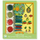 Kit créatif Perles et Charms fruits