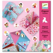 Kit Origami - Cocottes à gages (Filles)