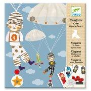 Kit Kirigami - Parachutes garçons