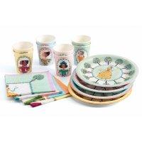 Contient : 1 x Kit Vaisselle Les Princesses