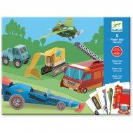 Paper toys - Les engins