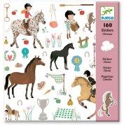 160 Stickers - Les chevaux