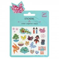 Mini stickers Motifs Japonais