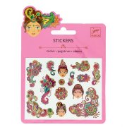 Mini stickers Motifs Inde