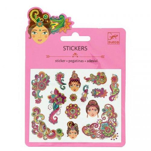 Mini stickers Motifs Inde