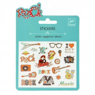 Mini stickers Pop et Rock