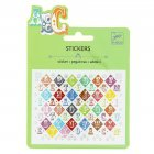 Mini stickers Lettres Saloon
