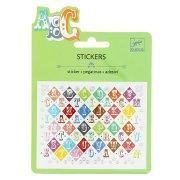 Mini stickers Lettres Saloon