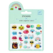 Mini stickers M�t�o Relief 2D