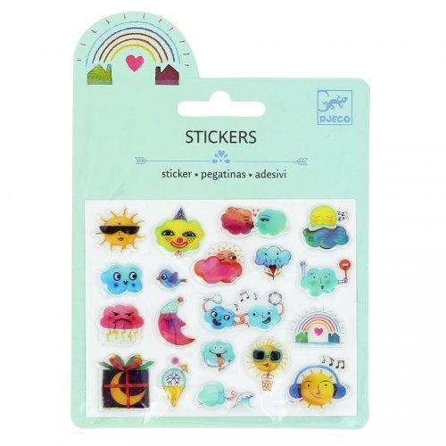 Mini stickers Météo Relief 2D