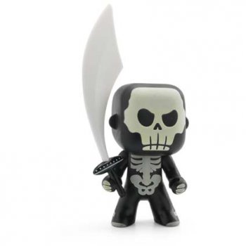 Arty Toys - Guerrier Skully Phosphorescent